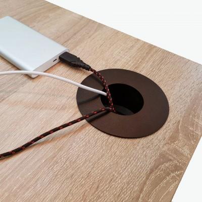 Заглушка для кабеля круглая